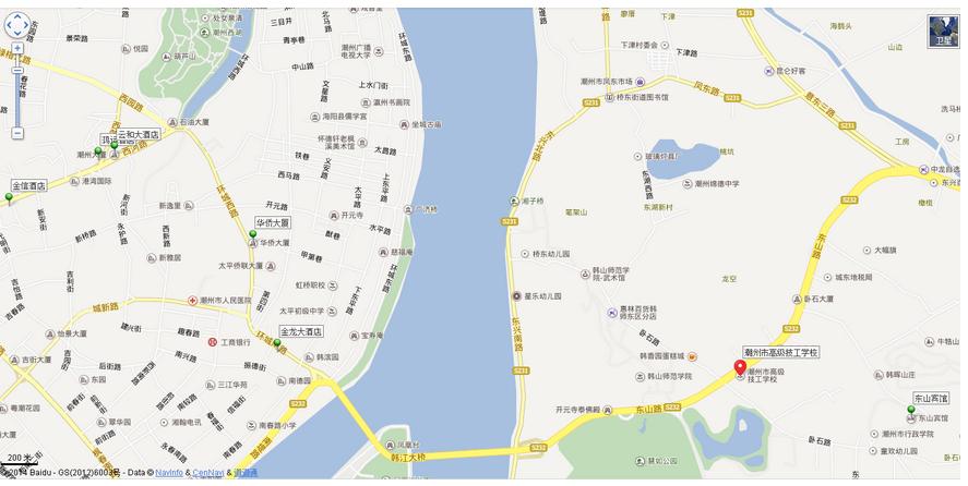 2015年东莞市考生赴潮州市参加公务员面试须知(住宿/交通)图片